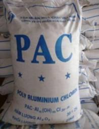 PAC - Poly Aluminium Cloride - Trắng